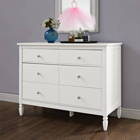 Image of: 6 Drawer Dresser White Sears