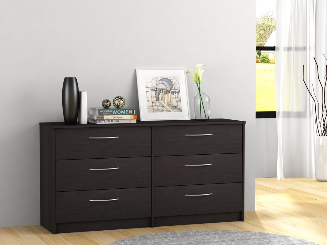 Picture of: 6 Drawer Dressers