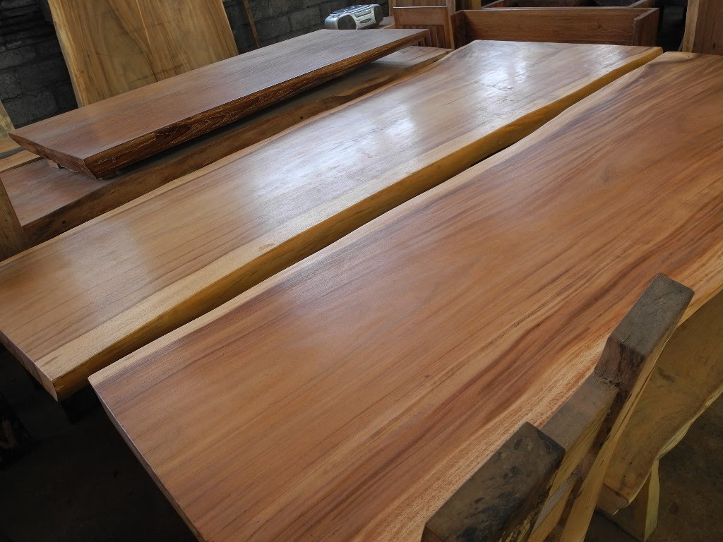Picture of: Acacia Wood Desk