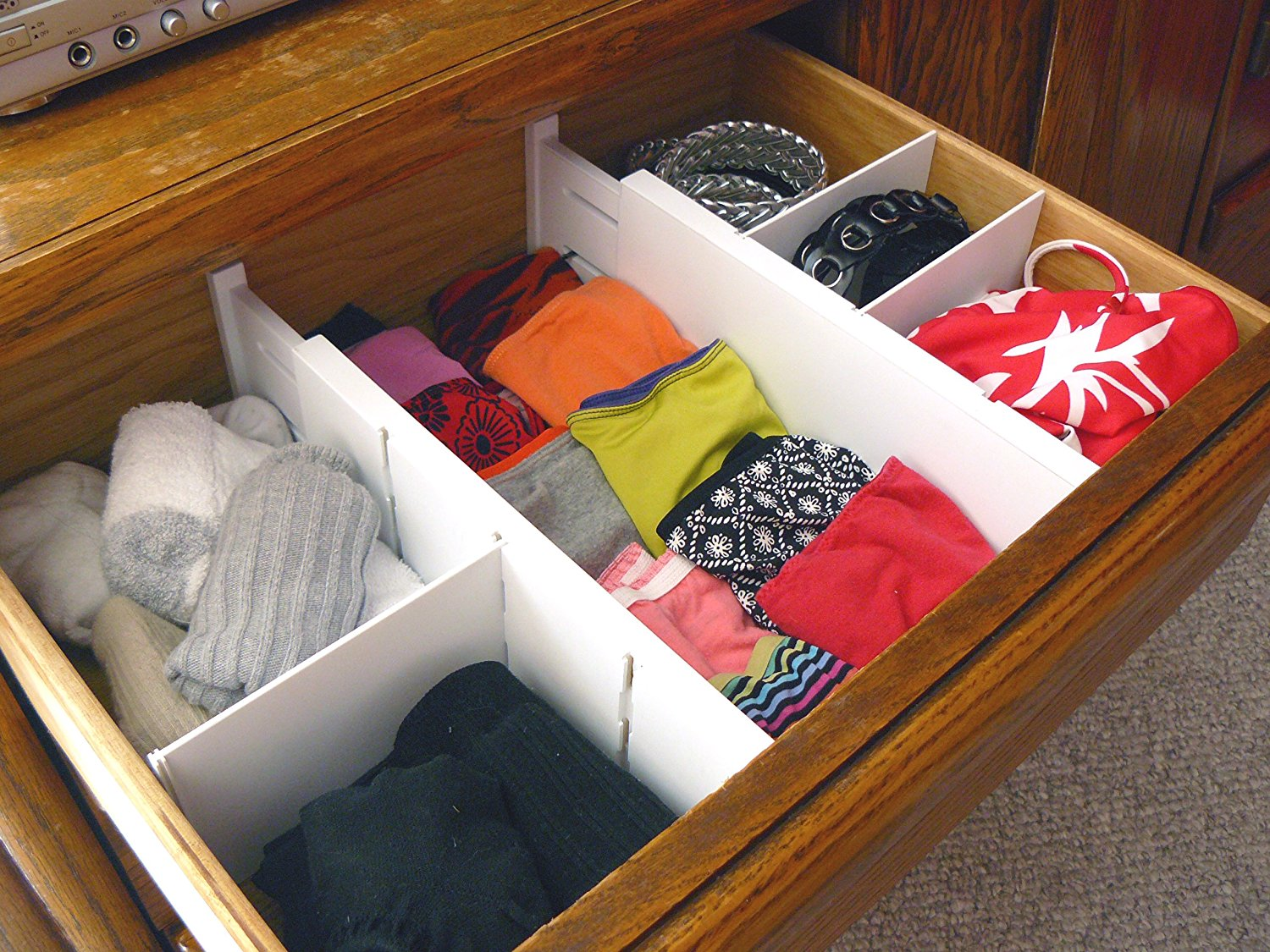 Picture of: Adjustable Drawer Organizer Design