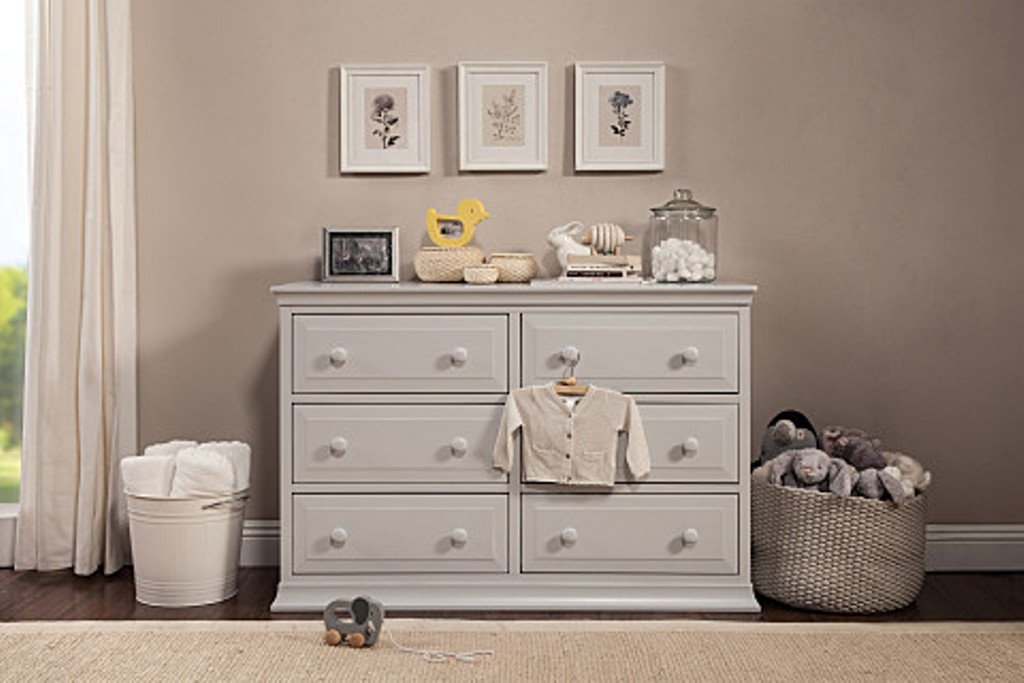 Image of: Amazon Grey Changing Table Dresser