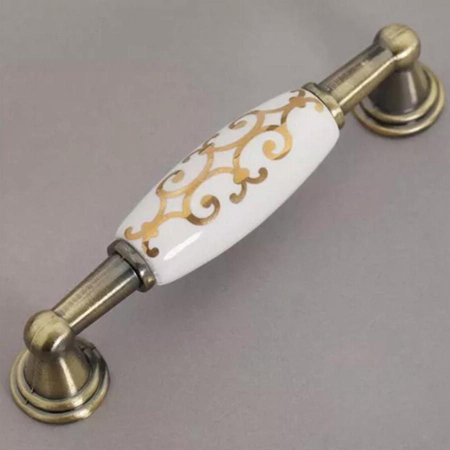 Image of: Antique Drawer Pulls Paint