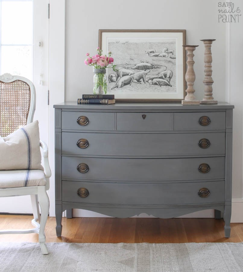 Antique Farmhouse Dresser Makeover