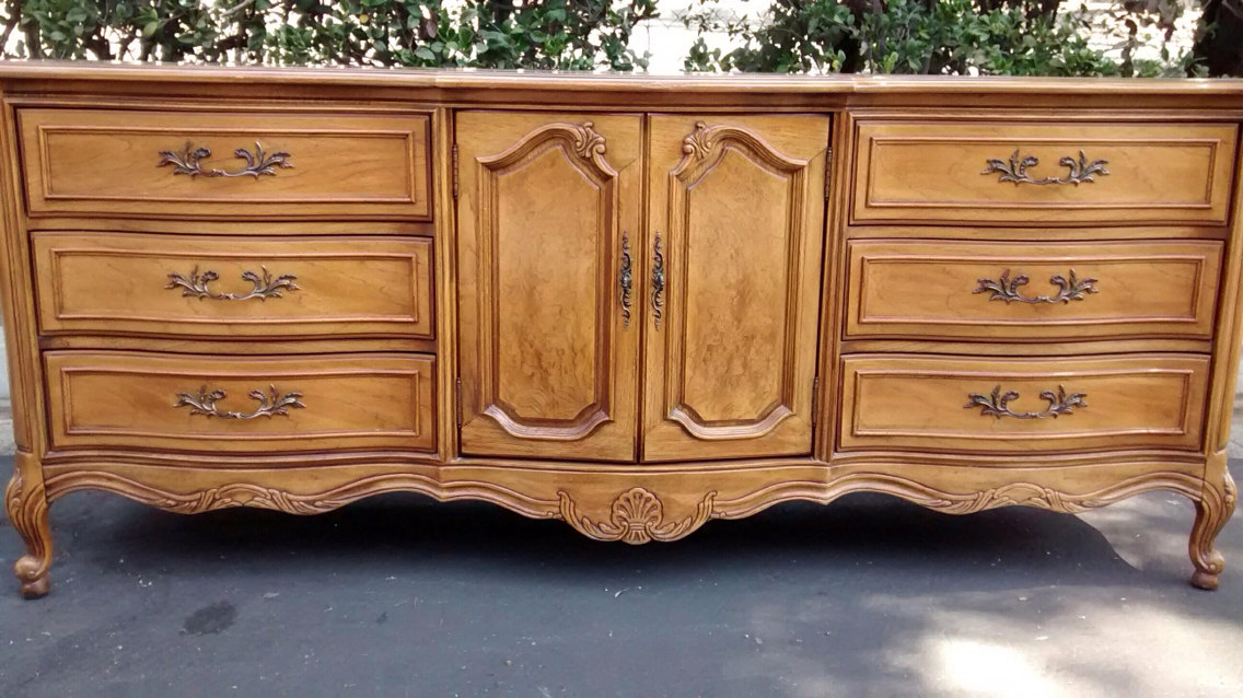 Picture of: Antique French Country Dresser