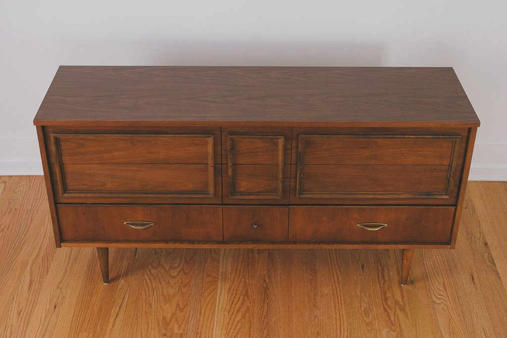 Antique Lowboy Dresser With Drawers