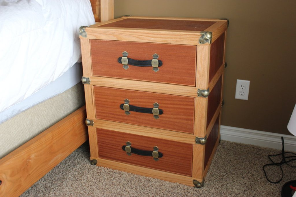 Picture of: Antique Trunk Dresser