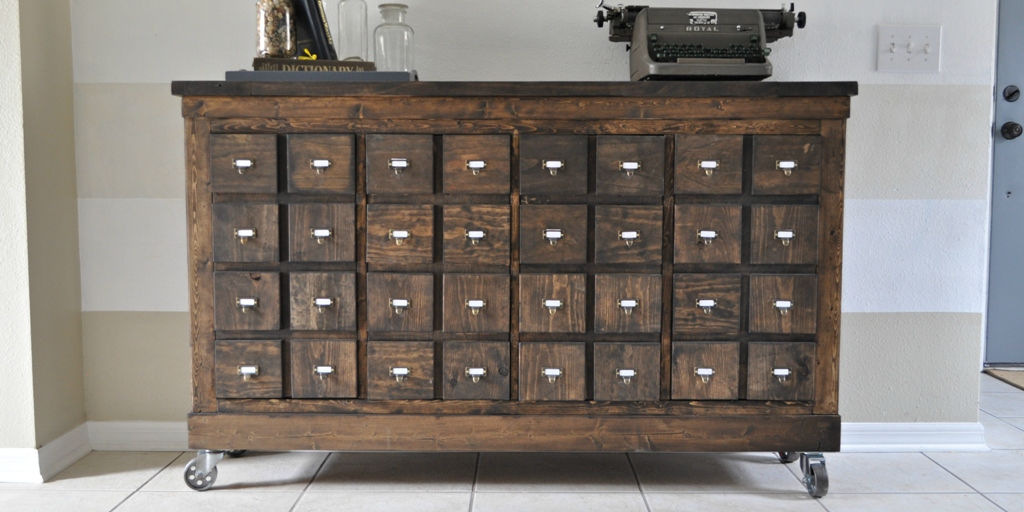 Picture of: Rustic Apothecary Chest Costco