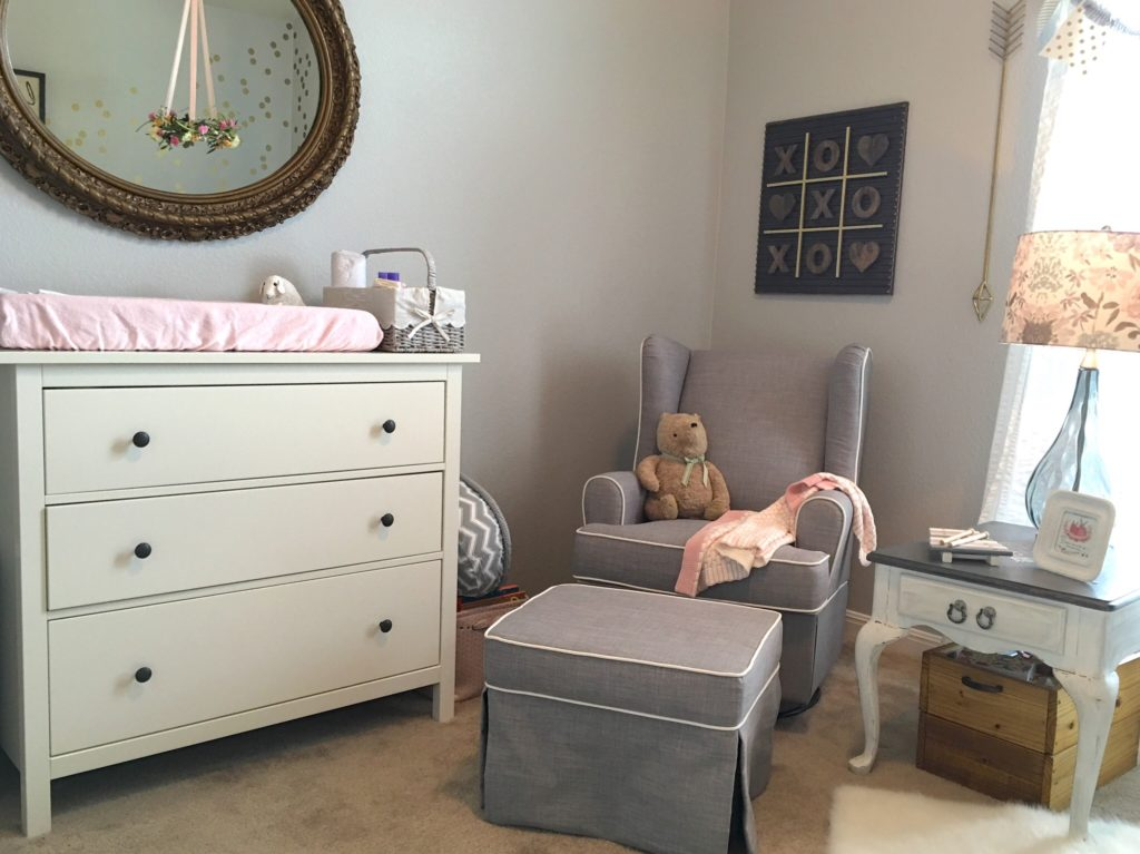 Baby Armoire With Hanging Rod