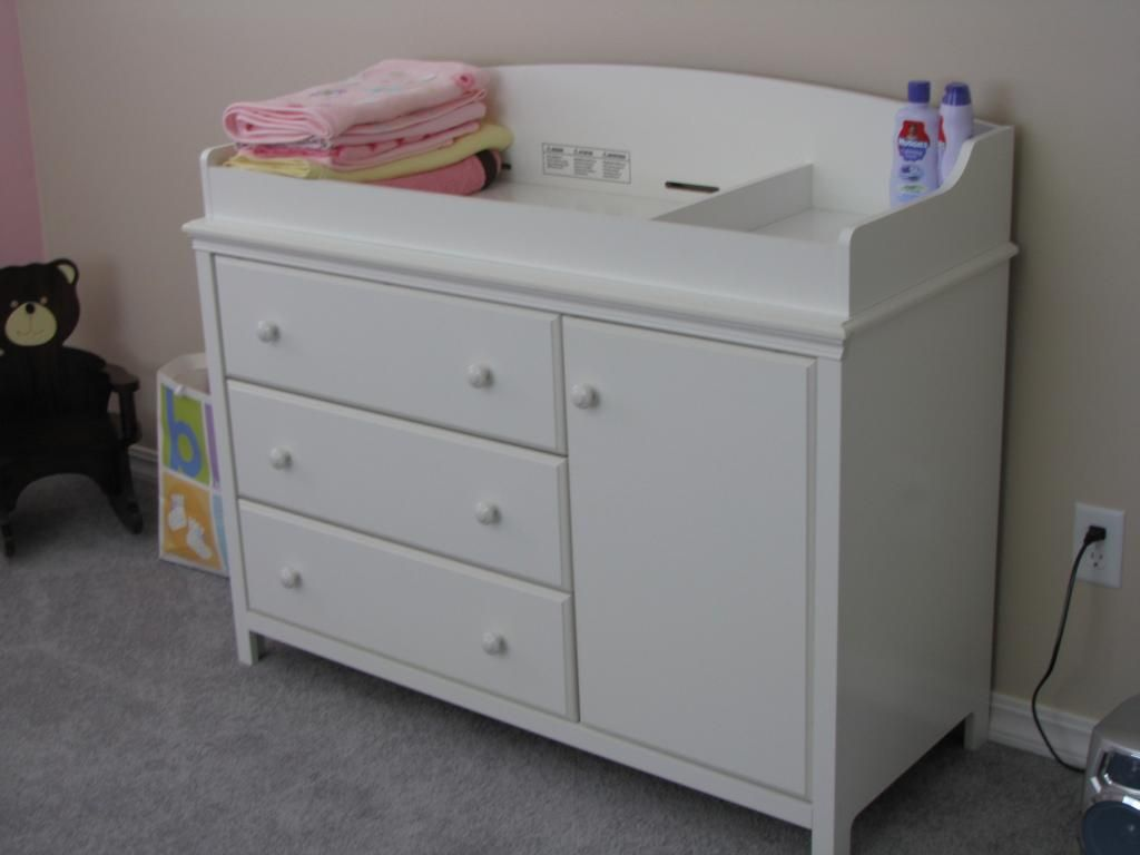 Baby Changing Tables White