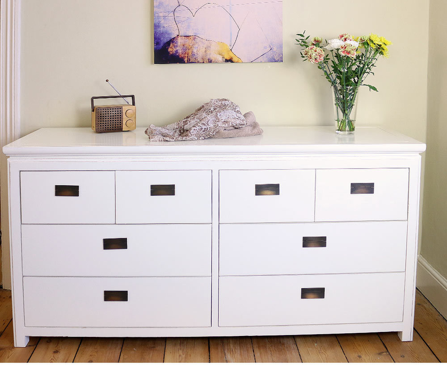 Bedroom Dressers White Color