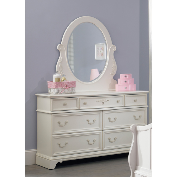 Picture of: Bedroom Set Dresser with Mirror