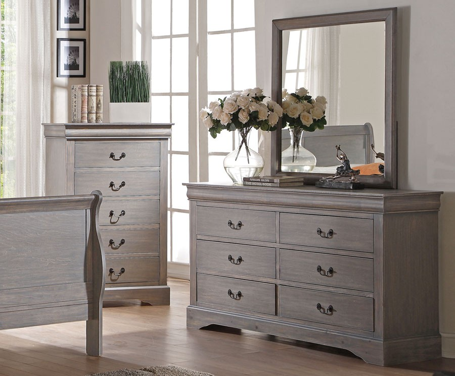 Picture of: Best Grey Paint For Furniture Mirror