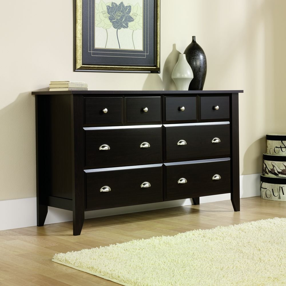 Picture of: Black Corner Dresser