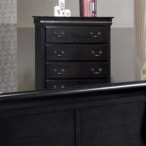 Picture of: Black Dresser Large Set