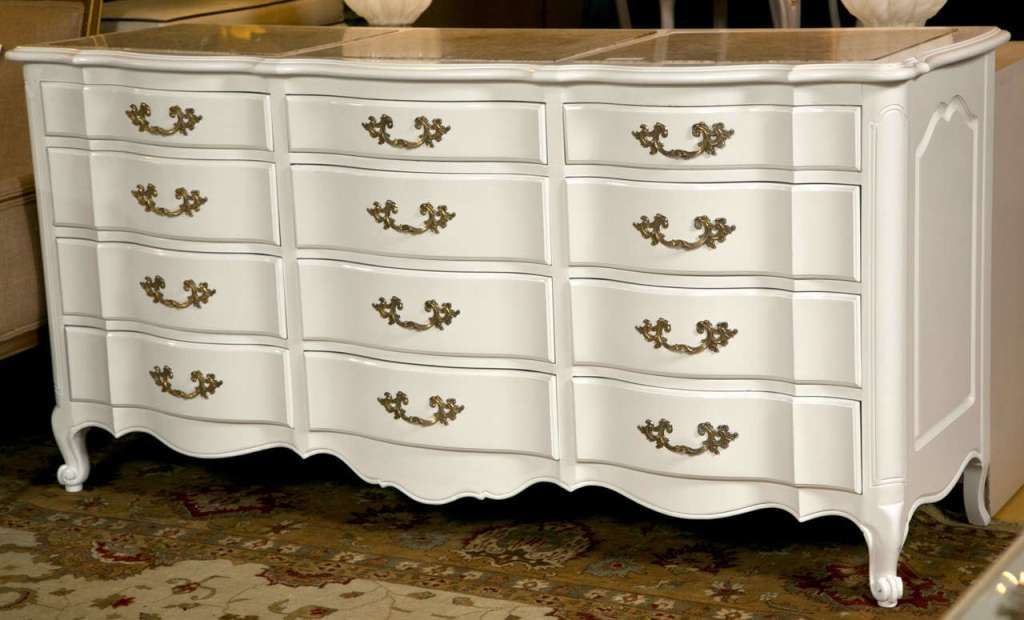 Picture of: Black Marble Dresser