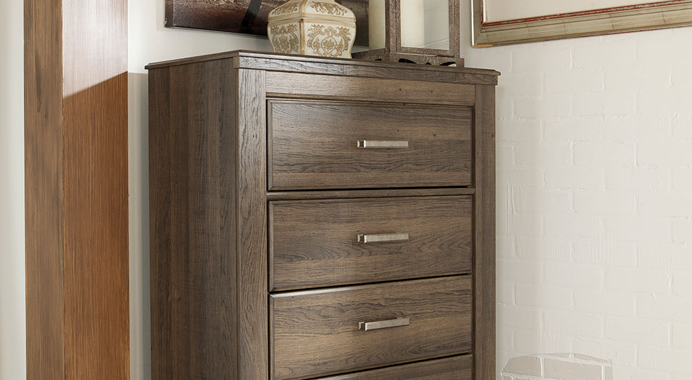 Picture of: Bostwick Dresser Wood Corner