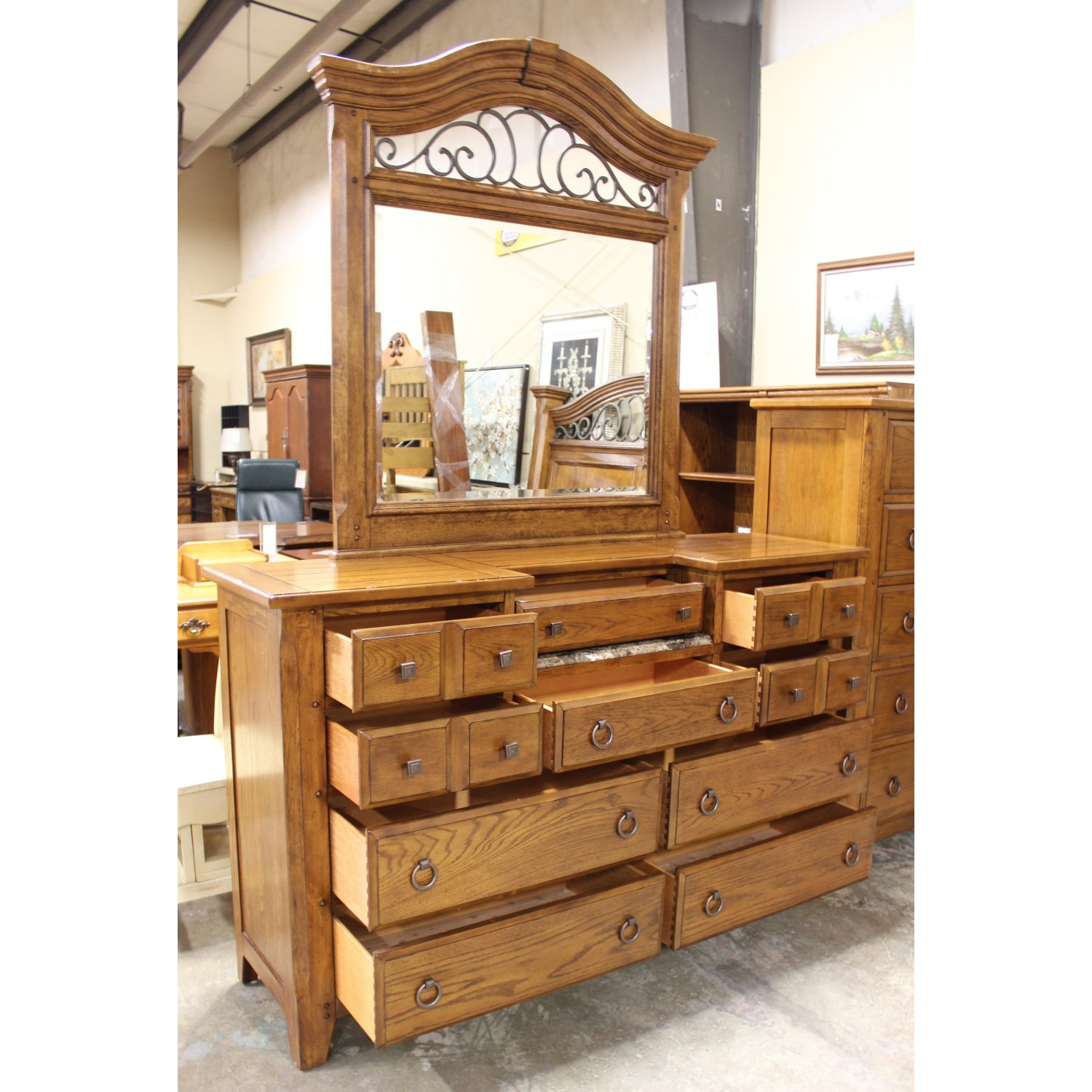 Picture of: Broyhill Dresser Vintage