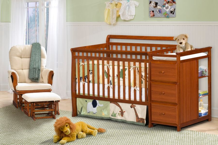 Image of: Changing Table Dresser