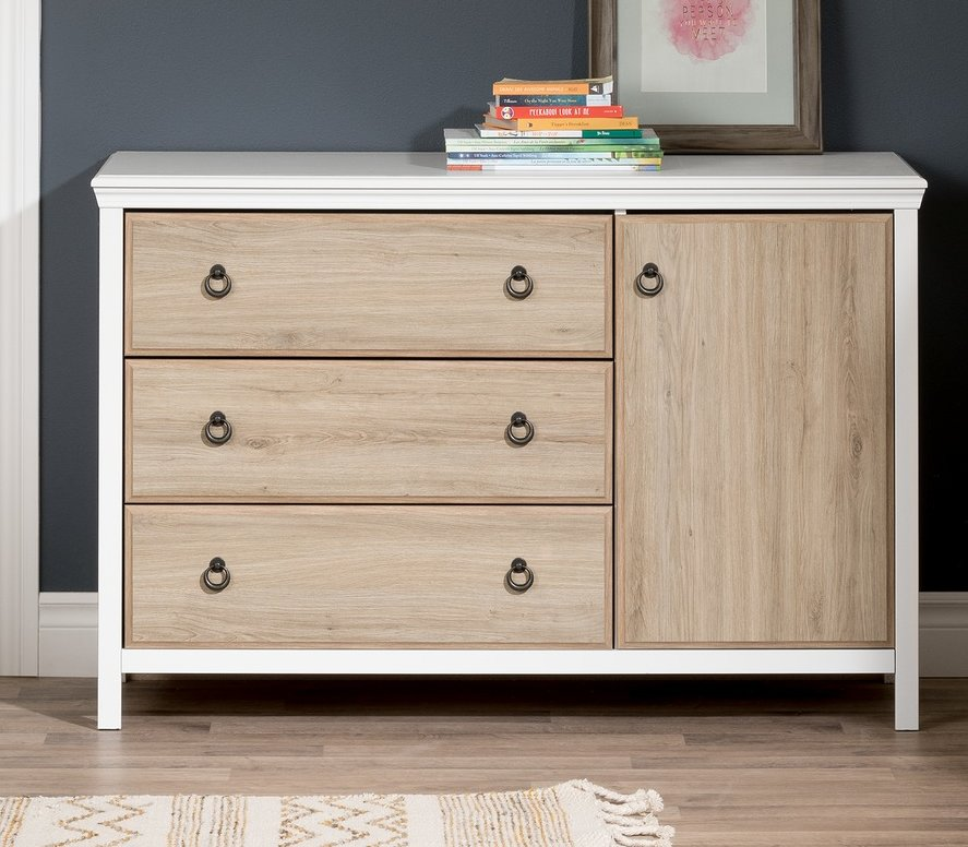 Picture of: Changing Table Modern Wood