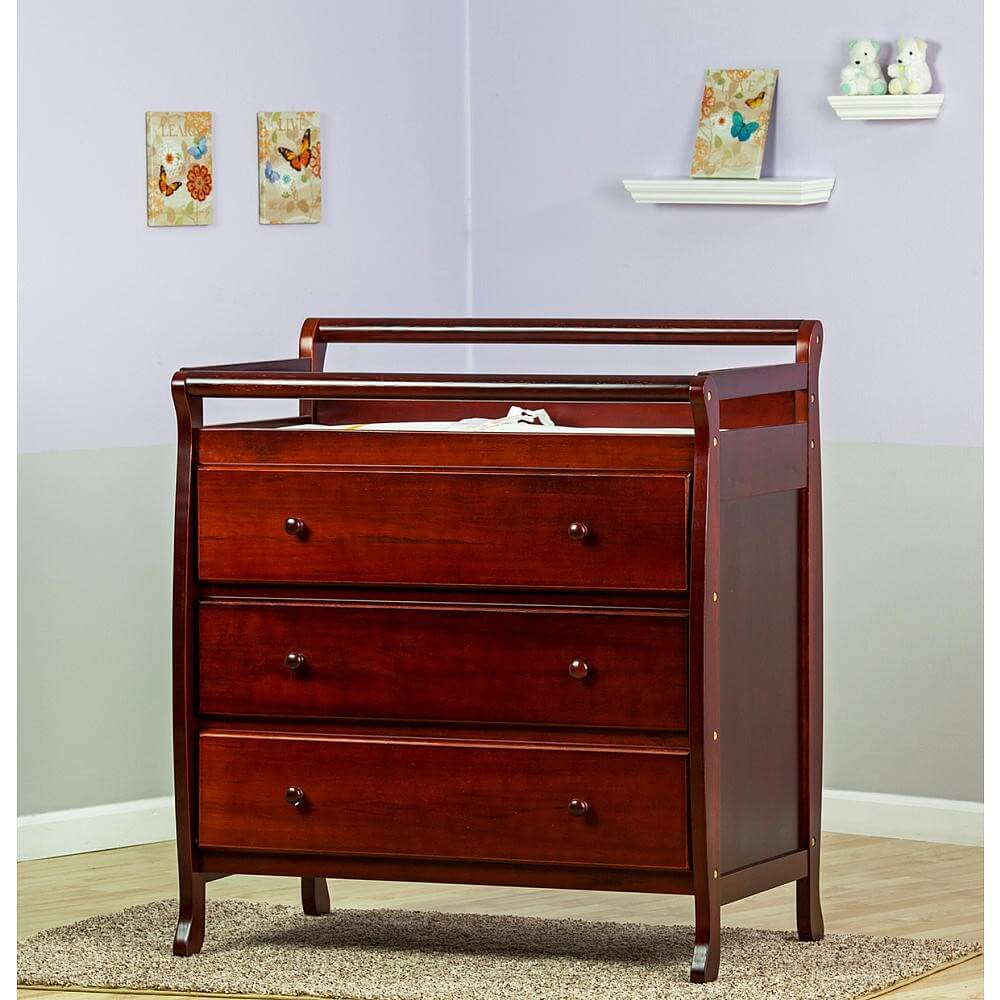 Picture of: Wall Mounted Changing Table Decors