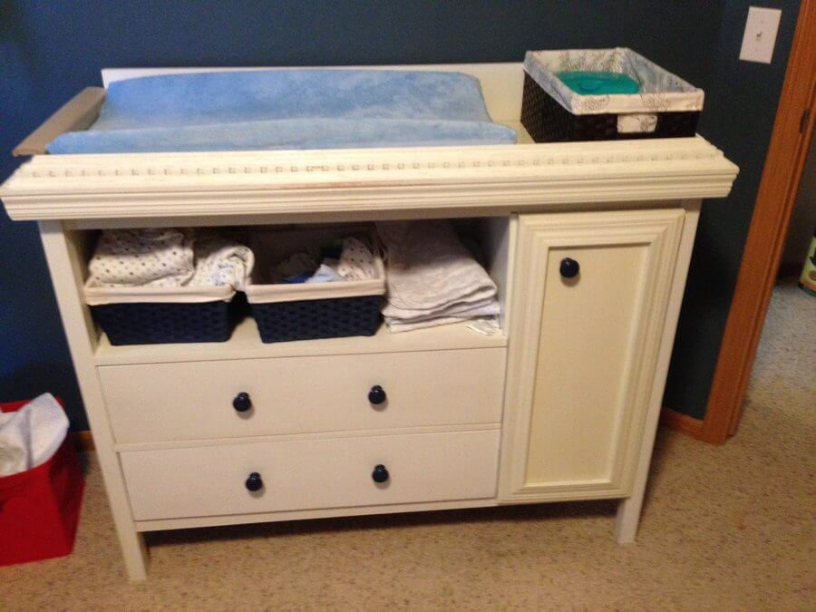 Picture of: Changing Table Walmart