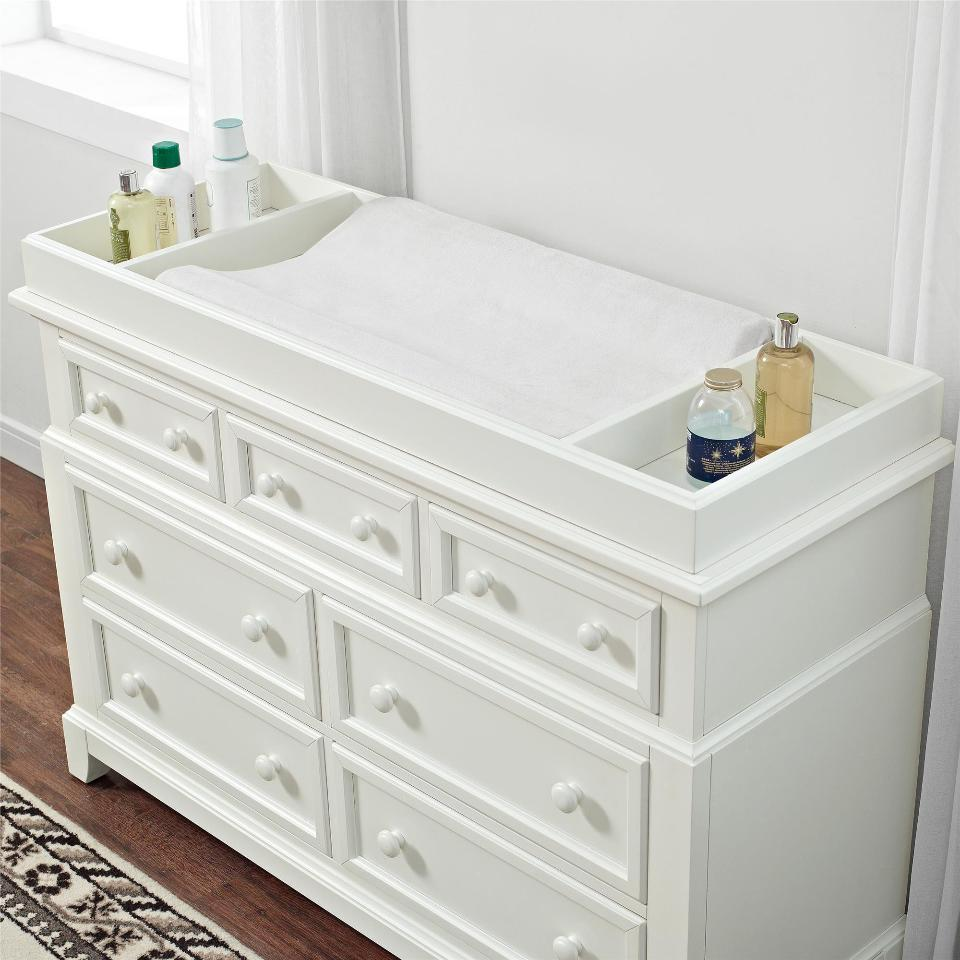 Picture of: Changing Table in White