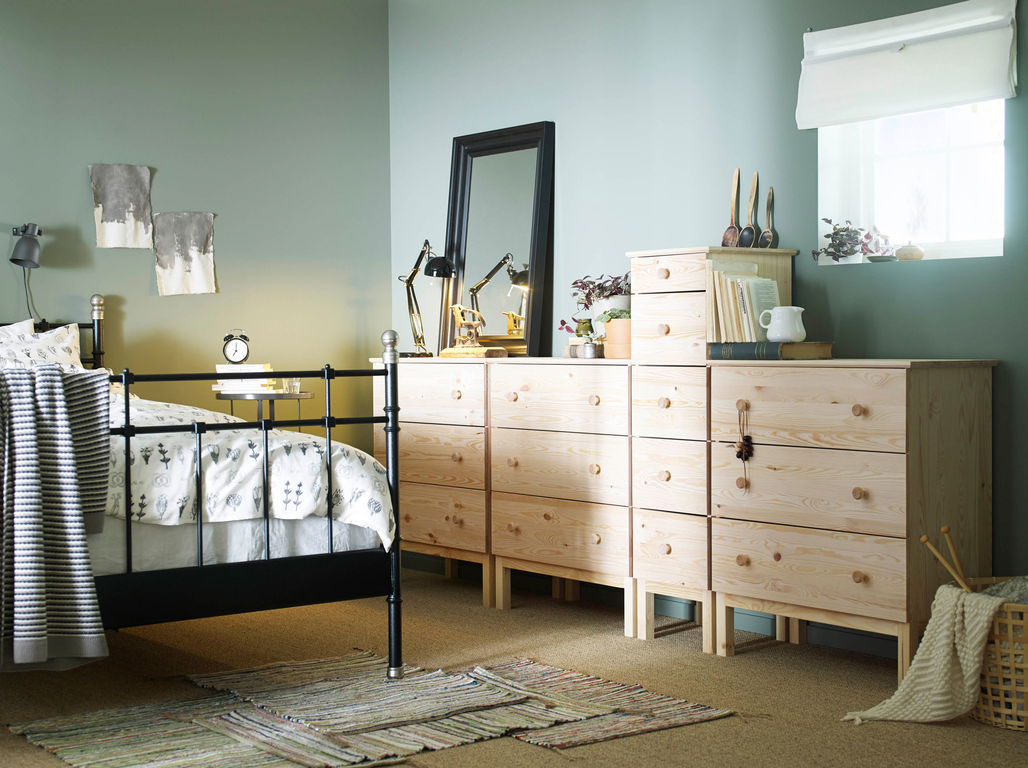 Cheap Dresser with Mirror Set