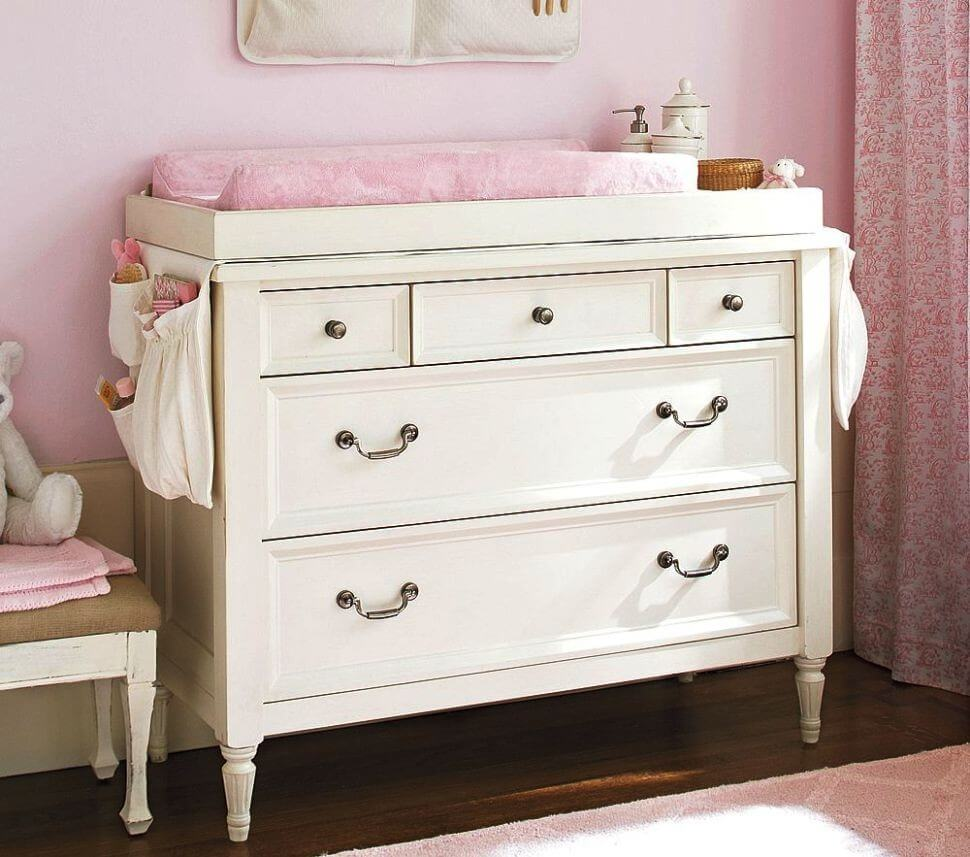 Picture of: Child Changing Table Dresser