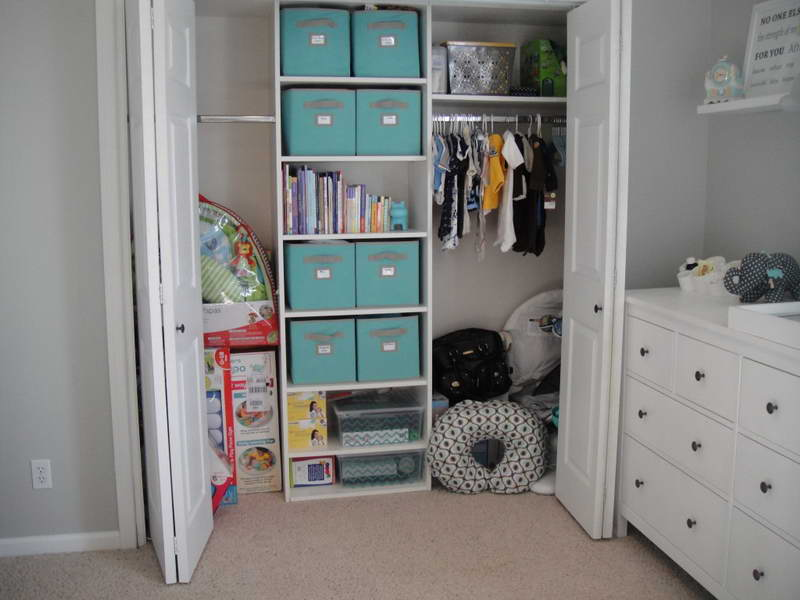 Picture of: Closet Drawers and Box