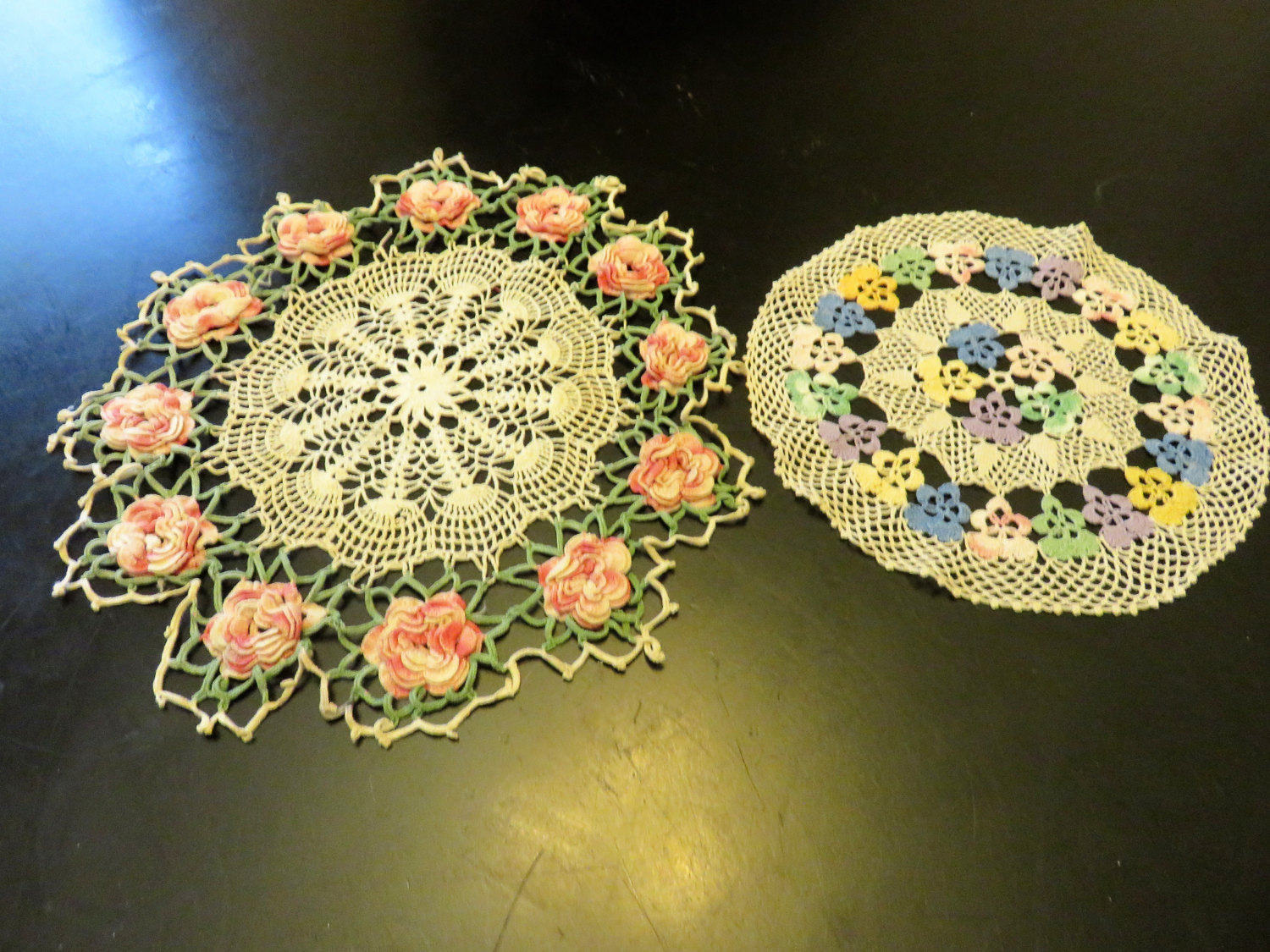 Coffee Table Doilies