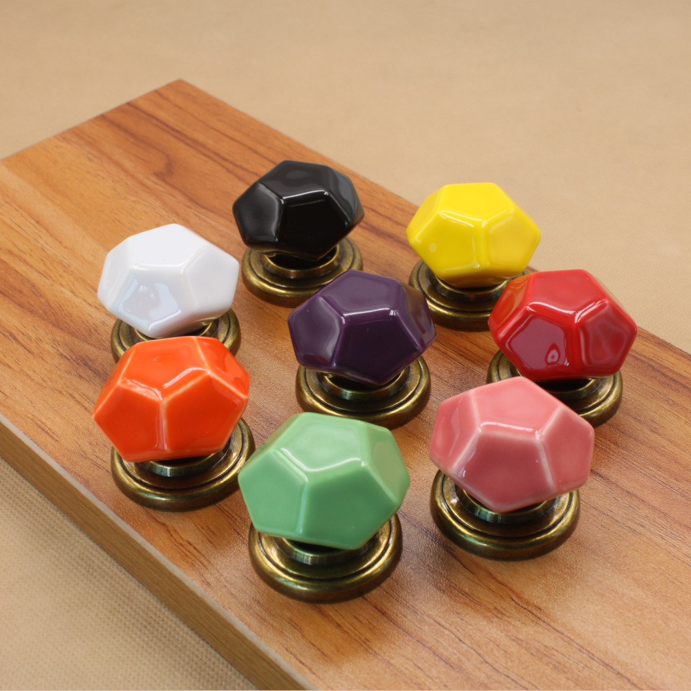 Colorful Dresser Knobs And Pulls