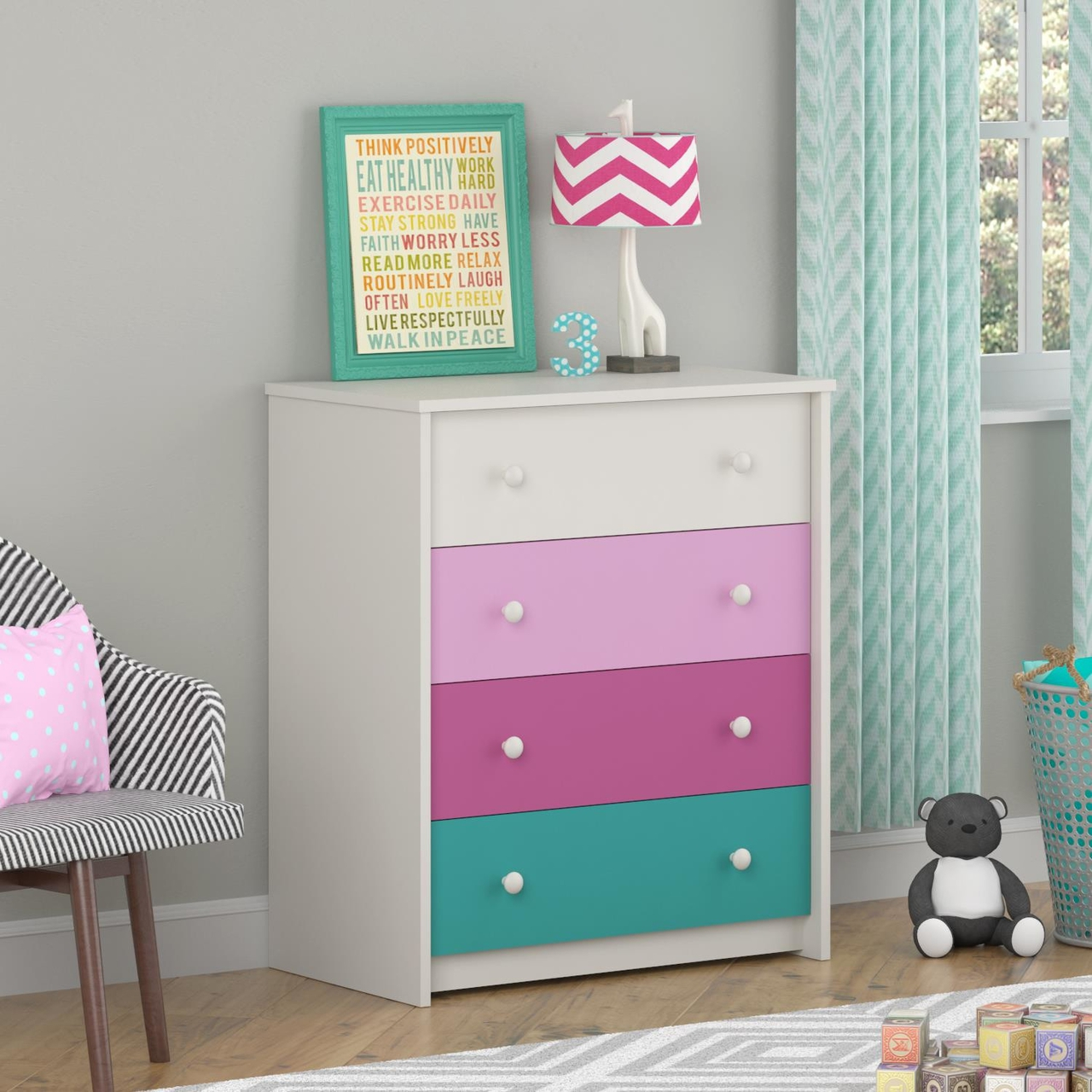 Picture of: Colorful Dressers At Ikea