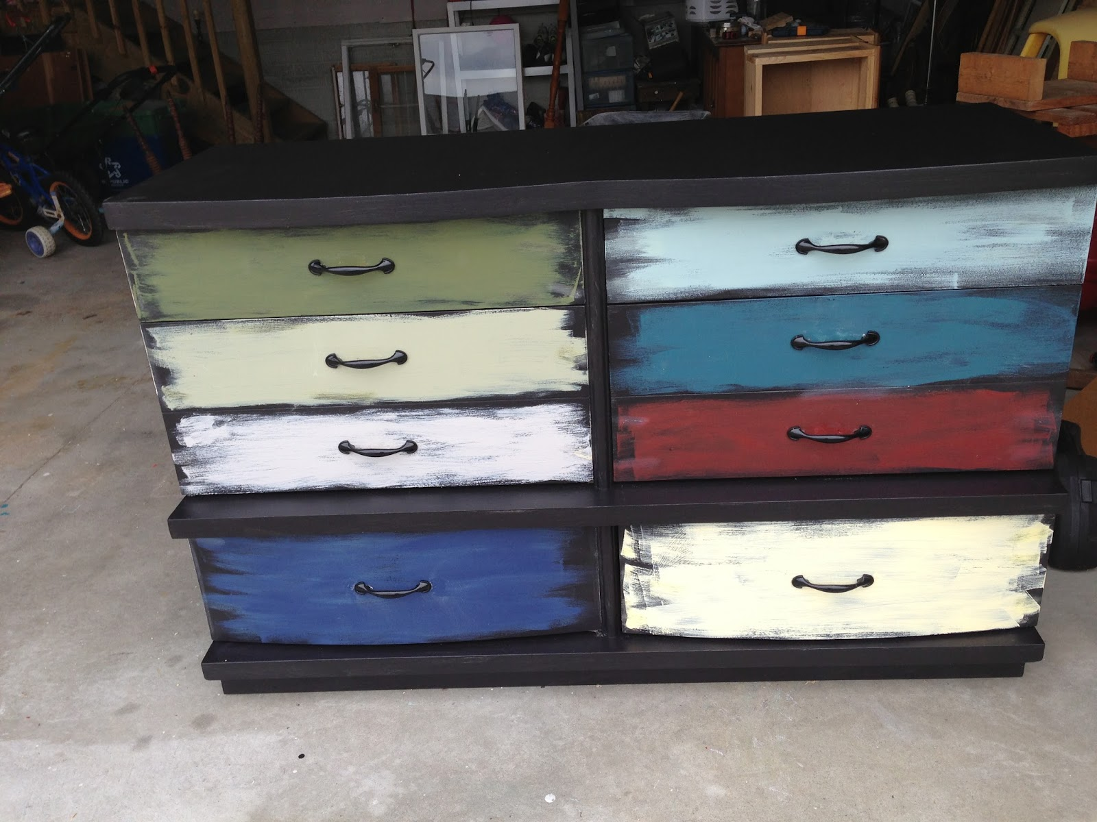 Picture of: Colorful Dressers Furniture