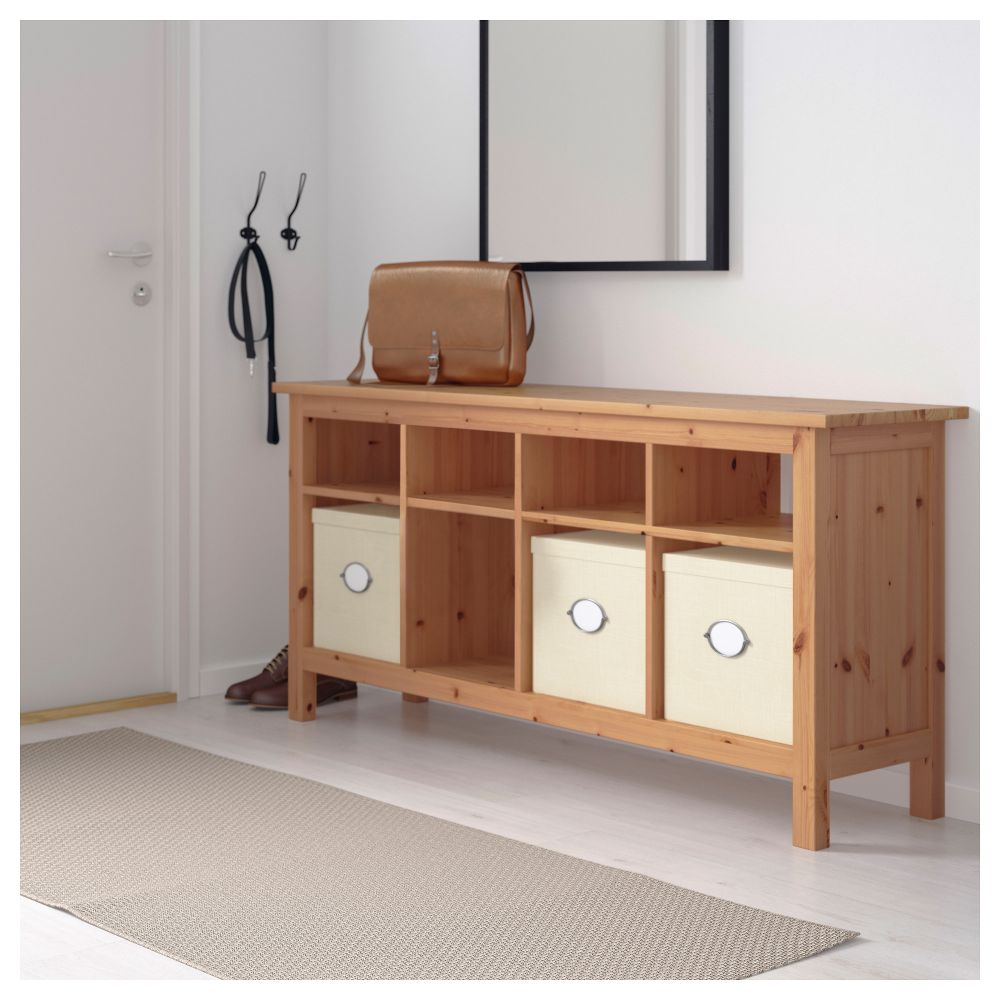 Picture of: Console Ikea Hemnes