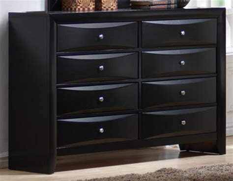 Image of: Contemporary Black Dressers
