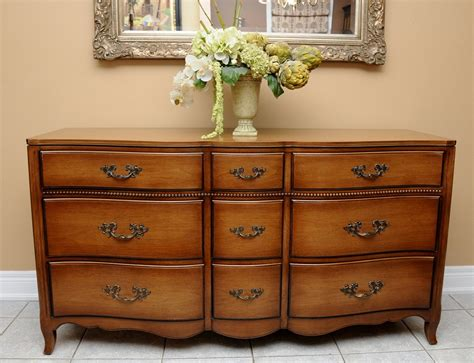 Country French Triple Dresser