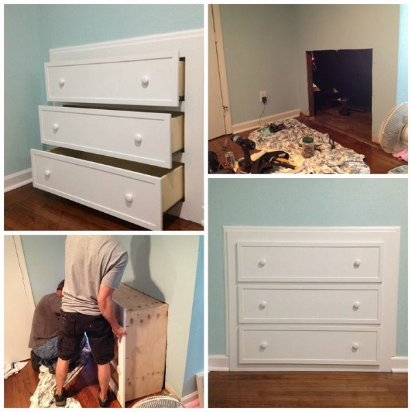 Picture of: DIY Dresser as Footboard