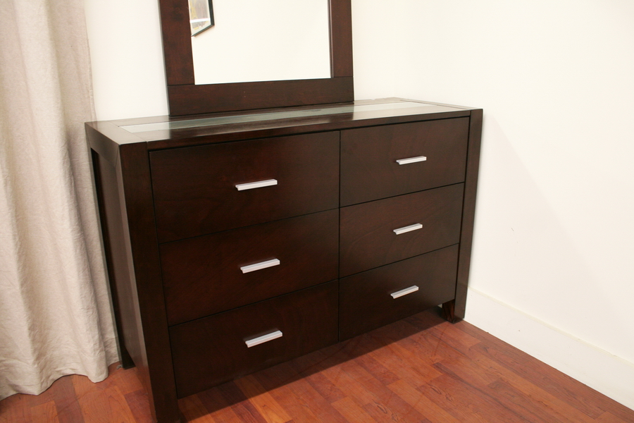 Picture of: Dark Brown Dresser Wood
