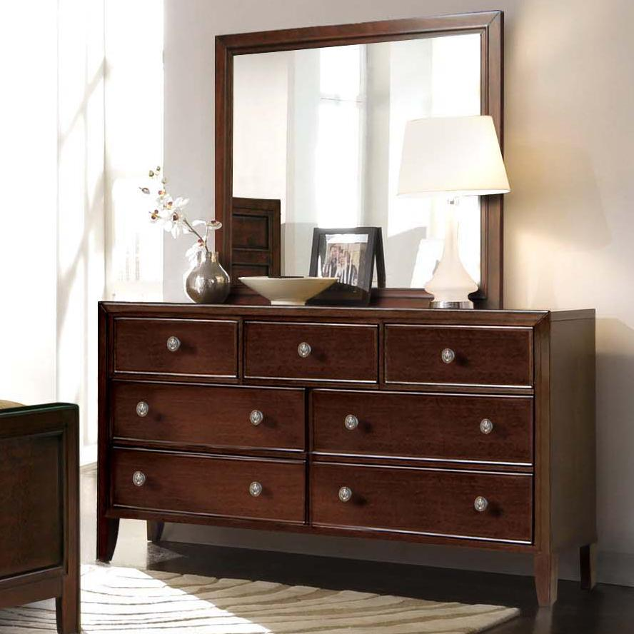 Picture of: Dark Brown Wood Dresser