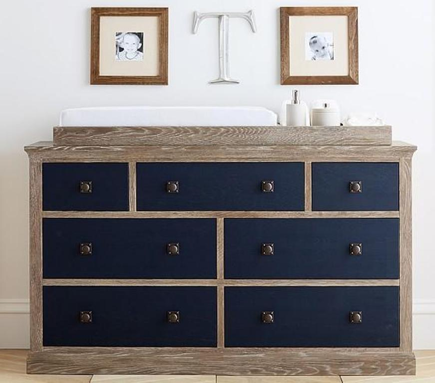 Image of: Davinci Grey Changing Table Dresser
