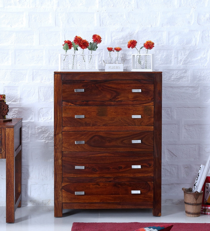 Picture of: Davinci Kalani Combo Dresser Honey Oak