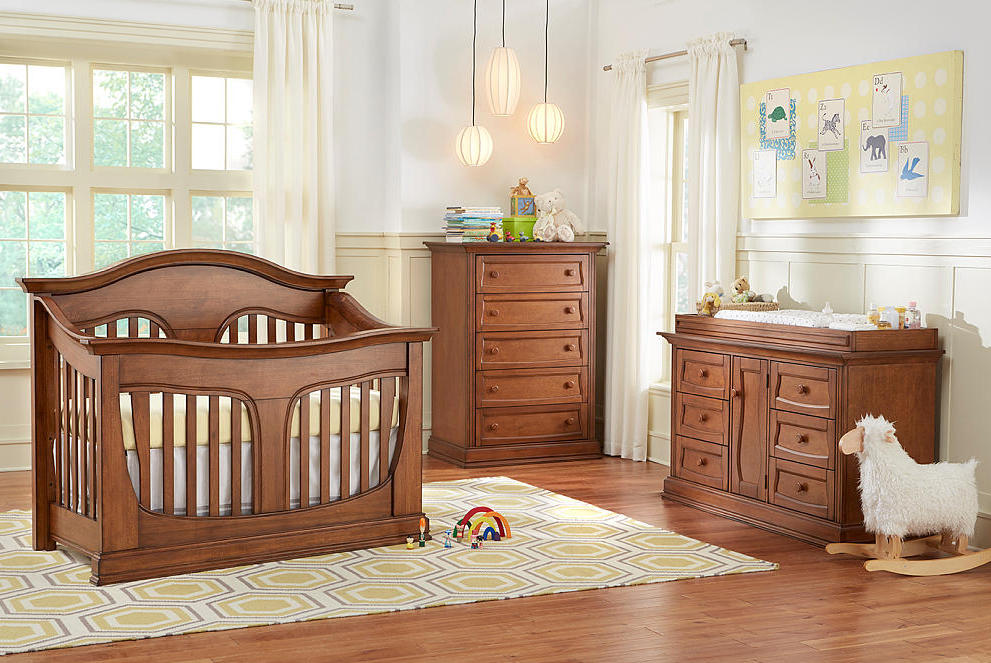 Picture of: Diaper Changing Table Wood Sets