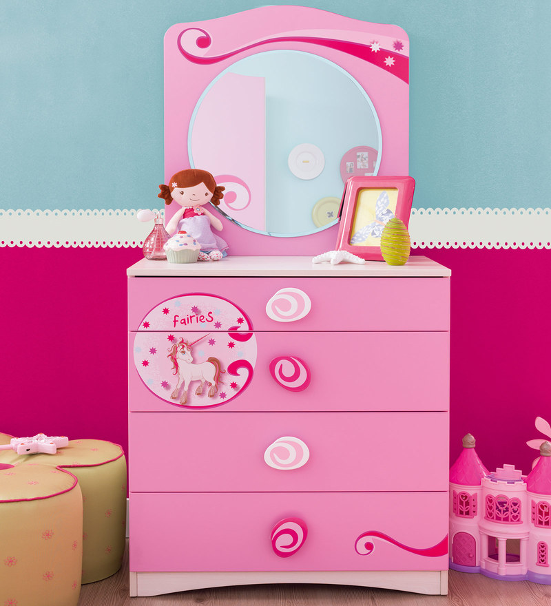 Picture of: Disney Princess 3 Drawer Dresser