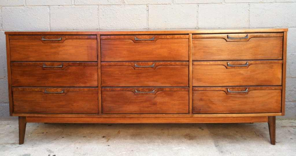 Picture of: Distressed Walnut Dresser