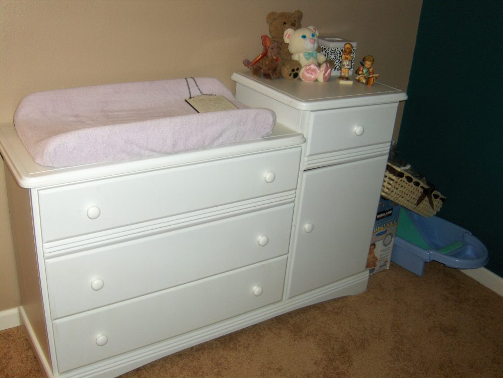 Picture of: Diy Changing Table Topper For Dresser Design