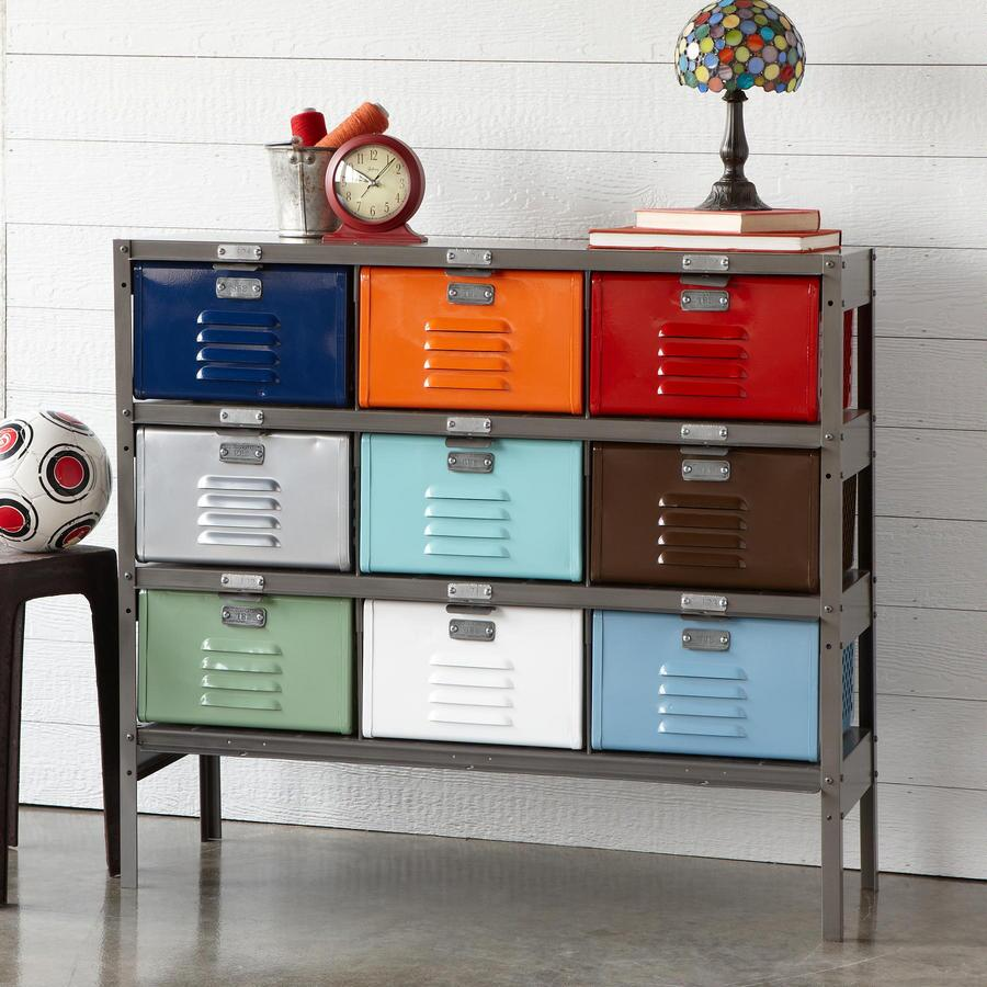 Picture of: Diy Locker Dresser Vintage