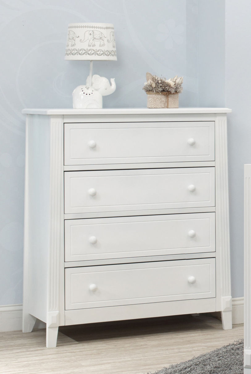 Picture of: Drawer Dresser Kids with Lamps
