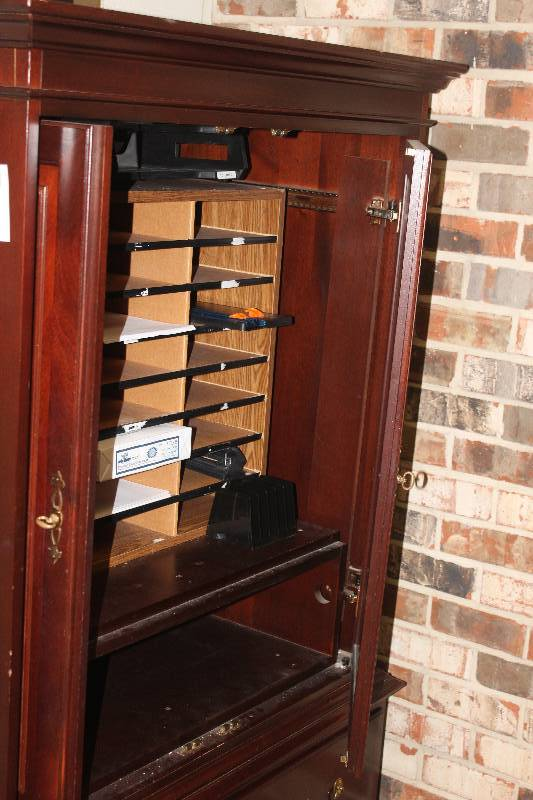 Picture of: Dresser Armoire Combo Cabinet