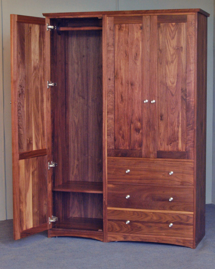 Picture of: Dresser Armoire Double