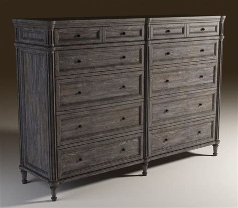Picture of: Dresser Grey Armoire